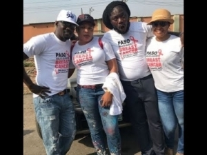 Video: Doris simon,Iyabo Ojo, kemi Afolabi,Daddy showkey Others Step for Pasuma Walk Against Breast Cancer
